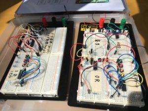体験用の電子回路